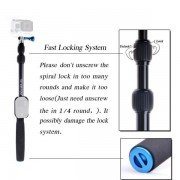 SmaPole S3 Detachable and Extendable Floating Pole for GoPro Hero 4