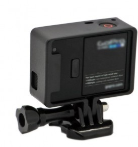 Frame Mount Housing with Thumb Knob and Buckle for Gopro 12