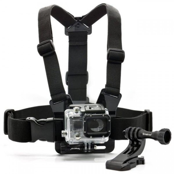 how to fit a pro go camera to chest belt