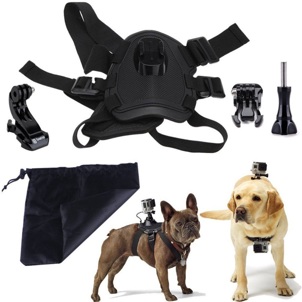 Dog Harness Chest Mount For Gopro Mycamera Ie